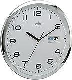 Acctim Supervisor Horloge murale heure/date 33 cm