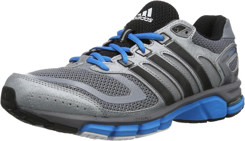 Adidas Response Cushion 22 M G97984 - Zapatos para correr para hombre, color gris, talla 41 1/3, gris - Grau (Tech Grey F12 / Black 1 / Solar Blue S14), 45 1/3: Amazon.es: Zapatos y complementos