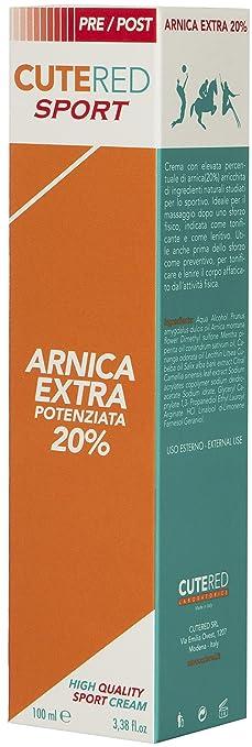 14 opinioni per Cutered Sport Crema Arnica Extra Potenziata 20%
