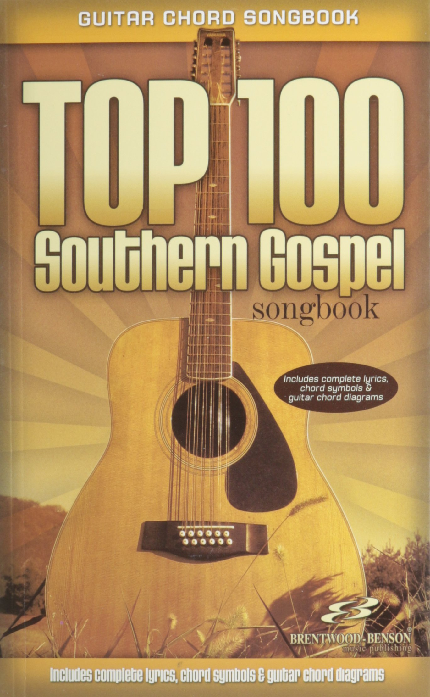 Amazon Top 100 Southern Gospel Guitar Songbook Guitar Chord