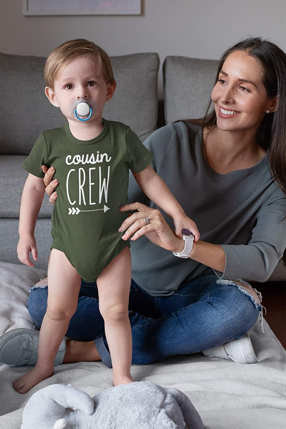 Cousin Crew Arrow T-Shirts and Bodysuits for Baby and Toddler Boy and Girls Fun Family Outfits