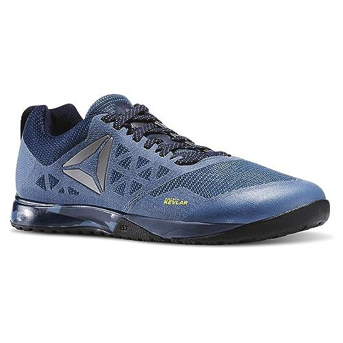 Reebok Crossfit Nano 6.0 Cross-Trainer del Hombres Zapatos, (Slate/Navy/Roya), 7 D(M) US: Amazon.es: Zapatos y complementos