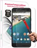 PThink® Premium Tempered Glass Screen Protector for Google Nexus 5X with 9H Hardness/Anti-scratch/Fingerprint resistant (Google Nexus 5X)