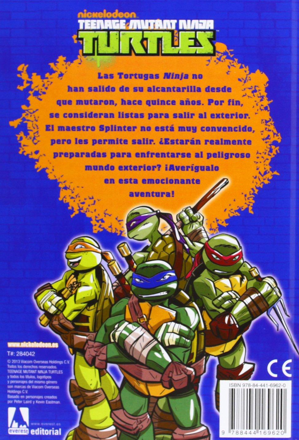 Tortugas Ninja. Equipo verde: NICKELODEON: 9788444169620 ...