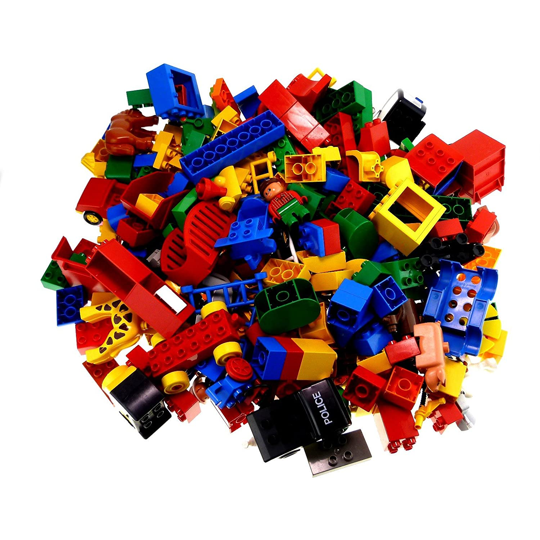 3 Kg Lego Duplo Steine BAU Basic Stein Sondersteine Kiloware zufällig bunt gemischt