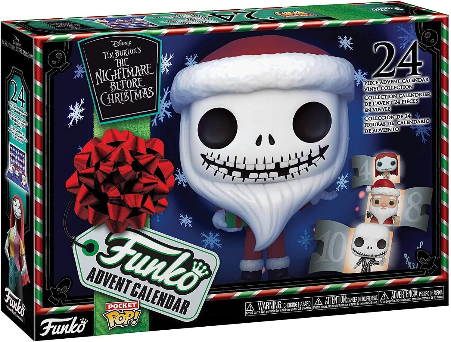 Nbc Christmas Schedule 2020 Amazon.com: Funko Advent Calendar: The Nightmare Before Christmas