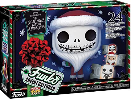Christmas Funko Pop 2020 Amazon.com: Funko Advent Calendar: The Nightmare Before Christmas