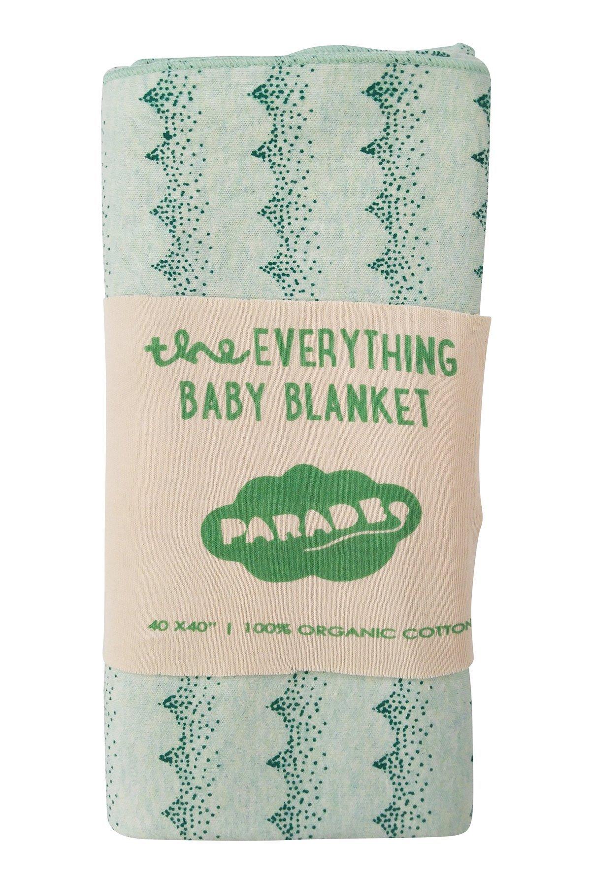 Parade Organics ''Everything Baby Wrap Dark Green Waves