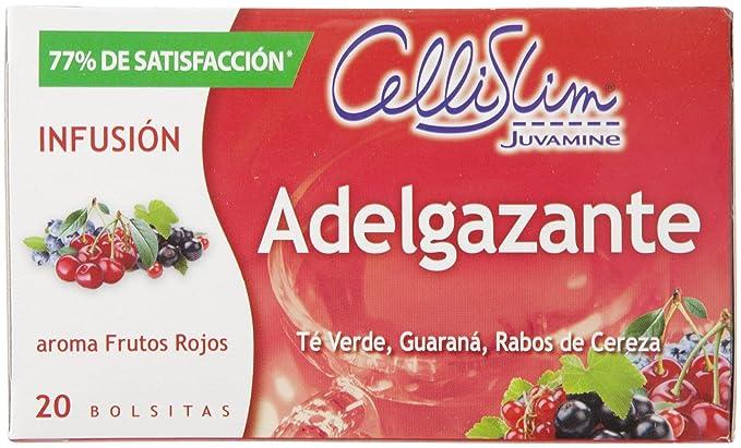 CELLISLIM - Te Adelgazante Frutos Rojos Estuche 20 Uds