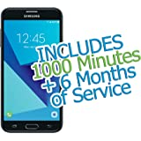 "Tracfone Samsung Galaxy J7 Sky PRO 5.5"" 16GB with 1000 Minutes/Texts/Data + 6 Months of Service"