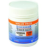 Schuessler Tissue Salts 250 Tablets - Comb 12 6X