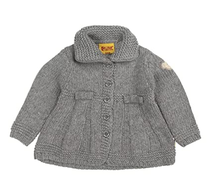 M/ädchen Strickjacke Strickjacke 1//1 Arm Steiff Baby