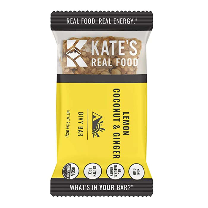 The Best Kates Real Food Bars Lemon Coconut