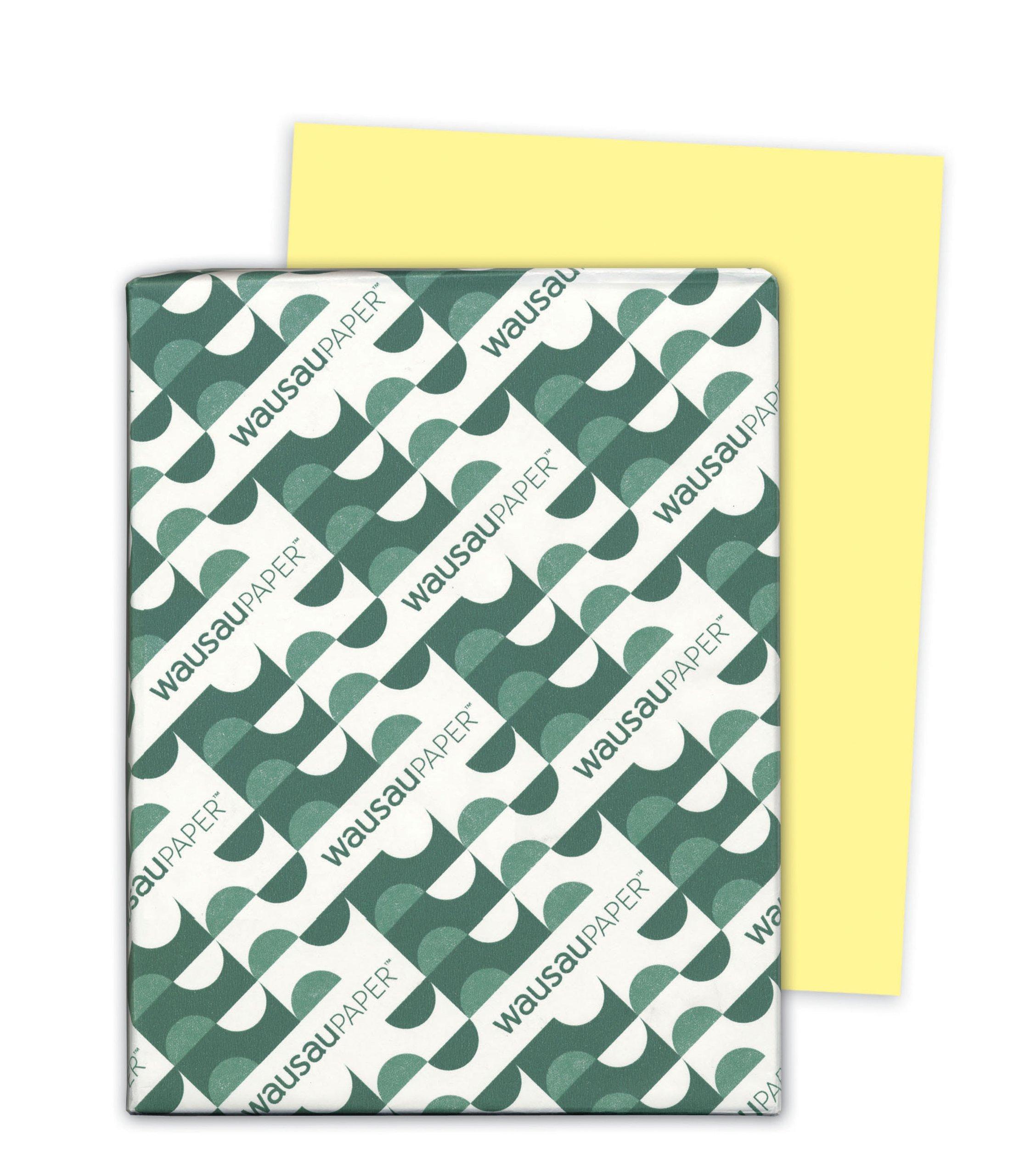 Wausau Exact Multipurpose Paper, 8.5 X 11 Inches, Yellow, 500 Count (32541)
