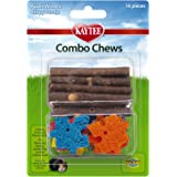 Kaytee Combo Chews, Apple Wood and Crispy Puzzle, 16 Pieces