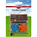 Kaytee Combo Chew Apple Wood and Crispy Puzzle Chew Toys