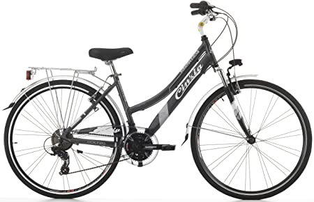 Cicli Cinzia Bicicleta Discovery de Mujer, con Marco de Aluminio ...