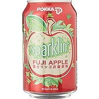 Pokka Sparklin' Fuji Apple Juice, 12 x 325ml
