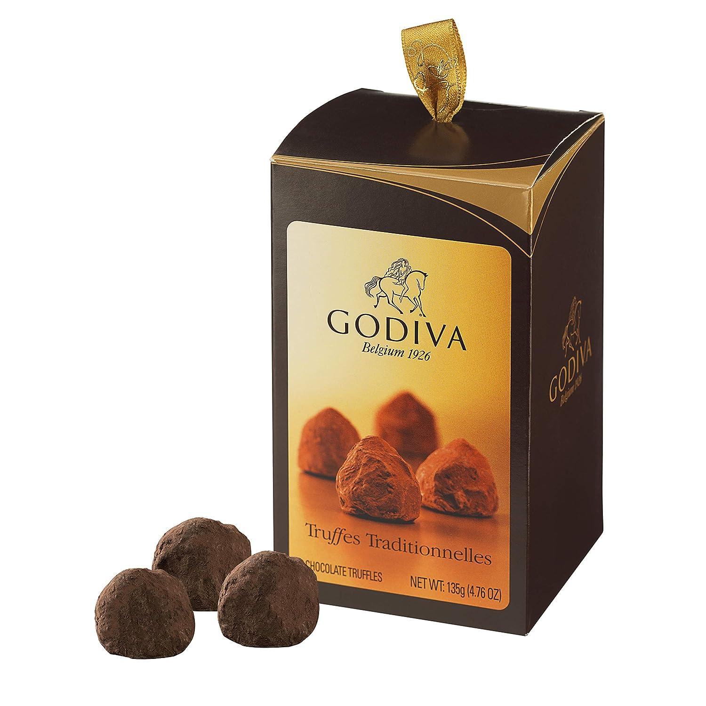Godiva, Cornet Truffle bombones trufas surtidas 10 piezas, 135g: Amazon.es: Alimentación y bebidas