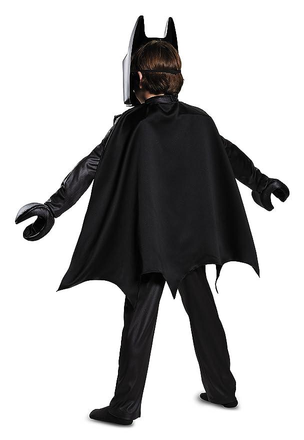 Amazon.com Batman LEGO Movie Deluxe Costume Black Small (4-6) Disguise Toys u0026 Games  sc 1 st  Amazon.com & Amazon.com: Batman LEGO Movie Deluxe Costume Black Small (4-6 ...