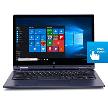 Ordenador portátil HKC azul azul real Y11CC-UK (FHD IPS, Touch, Convertible, Win10): Amazon.es: Informática