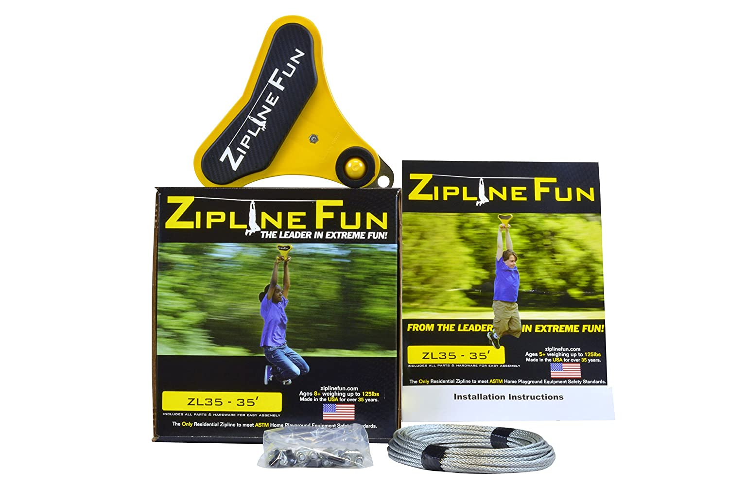 amazon com adventure parks fun ride zip line toys u0026 games