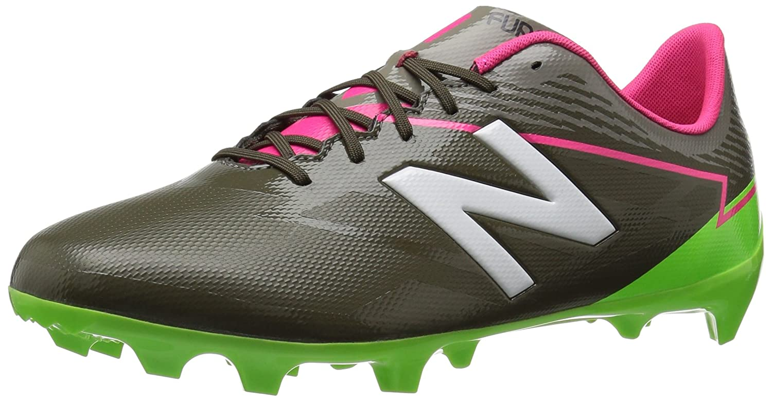 New Balance Men's Furon 3.0 Dispatch FG Soccer Shoe B01N66HTGV 7.5 D(M) US|Military Dark/Alpha Pink