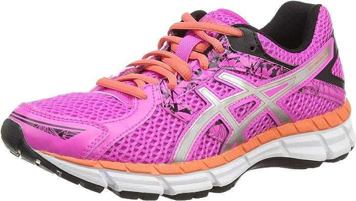ASICS Gel-Oberon 10 - Zapatillas de Running para Mujer, Color Rosa (Pink Glow/Silver/Living Coral 3593), Talla 44: Amazon.es: Zapatos y complementos
