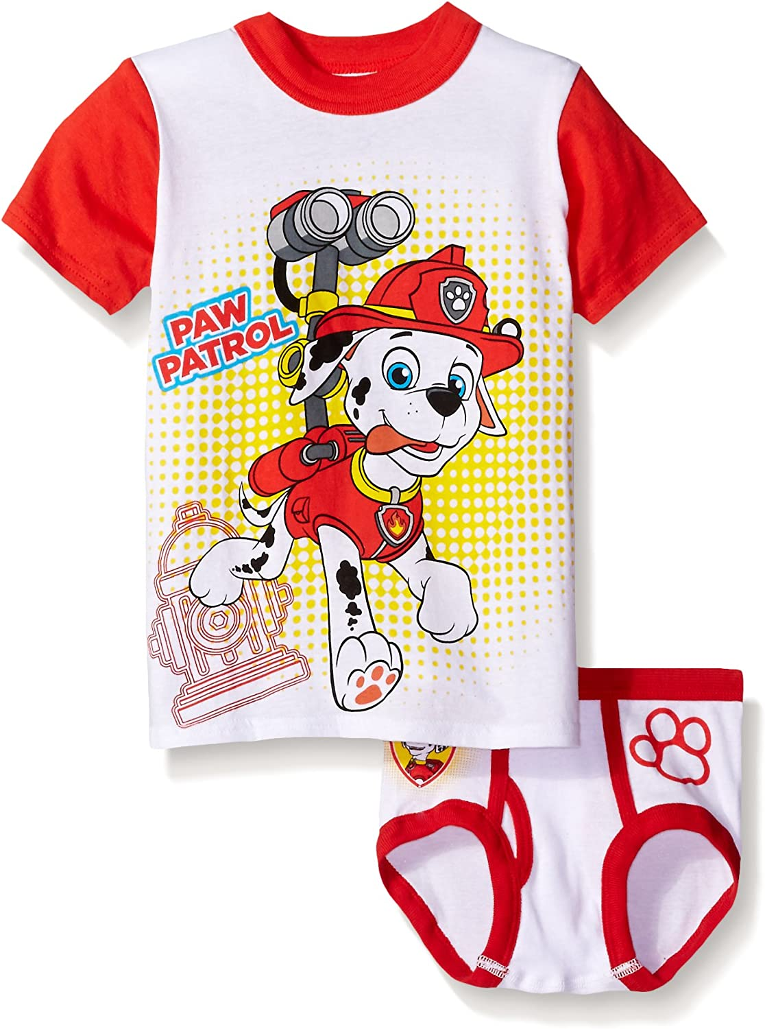 Paw Patrol Adventure Bay Boys 2 Piece Mesh Tank /& Short Set