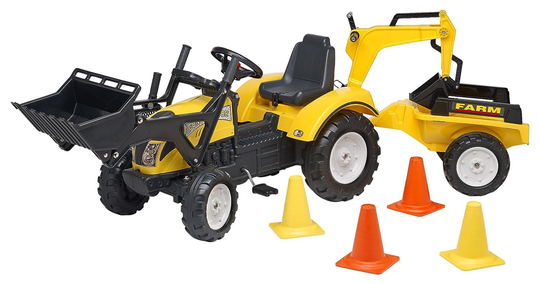 Falk- Tracteur à pédales, 2085XC, Jaune
