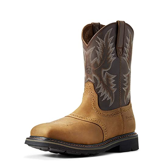 b6dc5d9e616 Ariat Men's Sierra Wide Square Steel Toe Work Boot
