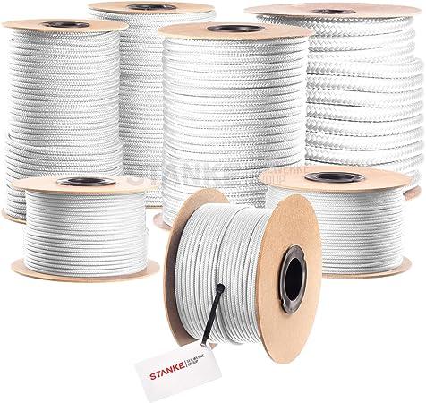 Seilwerk STANKE 200 m 5 mm corde en polypropyl/ène corde damarrage gr/éement corde bleue