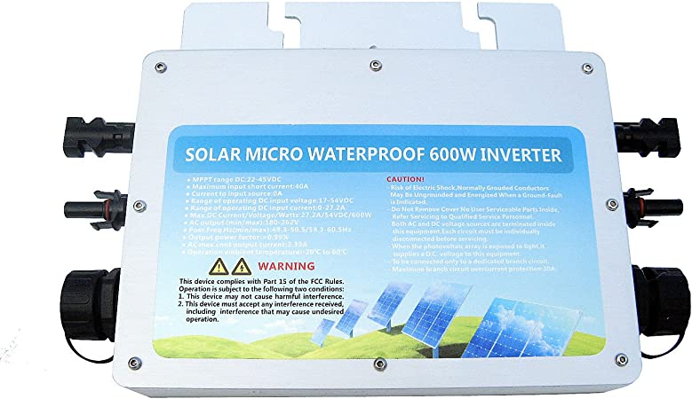 Amazon.com: Kit completo de paneles solares Eco-worthy de ...