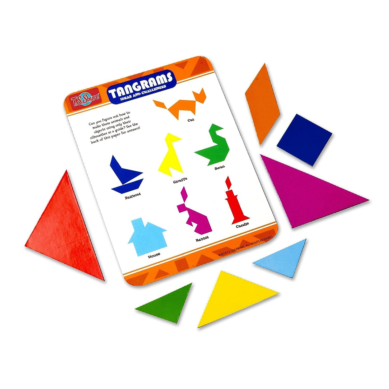 T.S Shure Tangrams Mini Tin Magnet Set