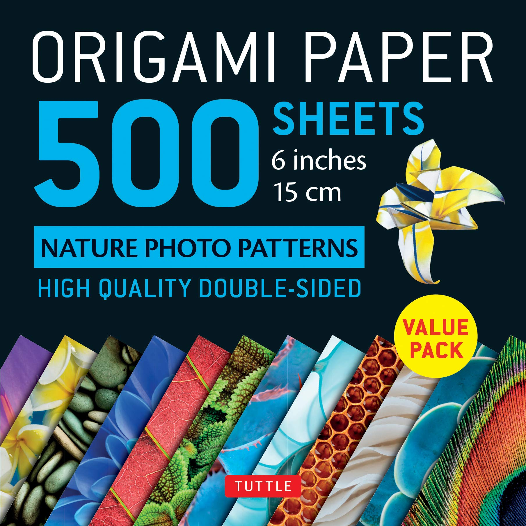 Origami Paper sheets Nature Patterns product image