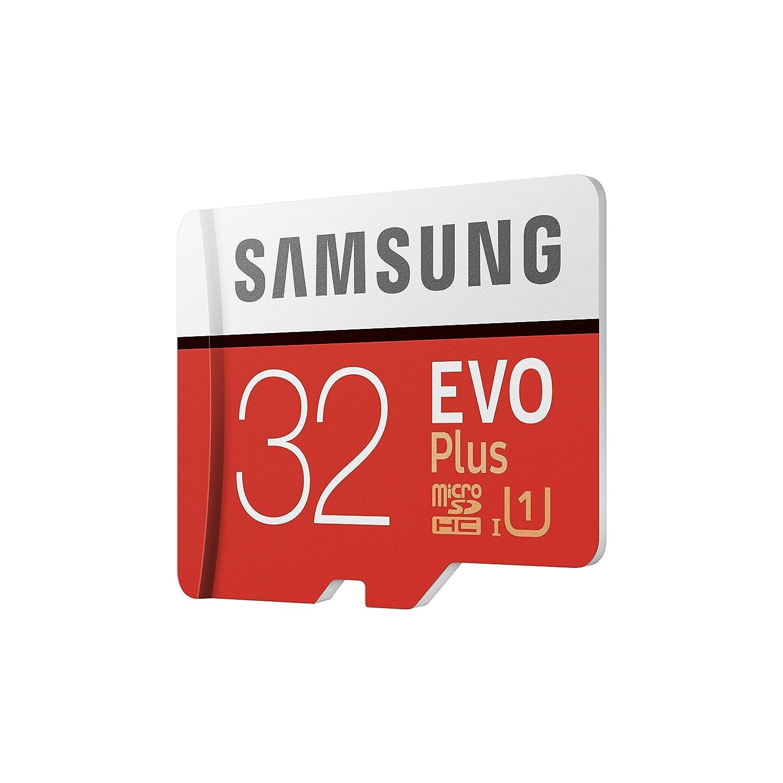 Samsung EVO Plus - Tarjeta de memoria microSD de 32 GB con ...