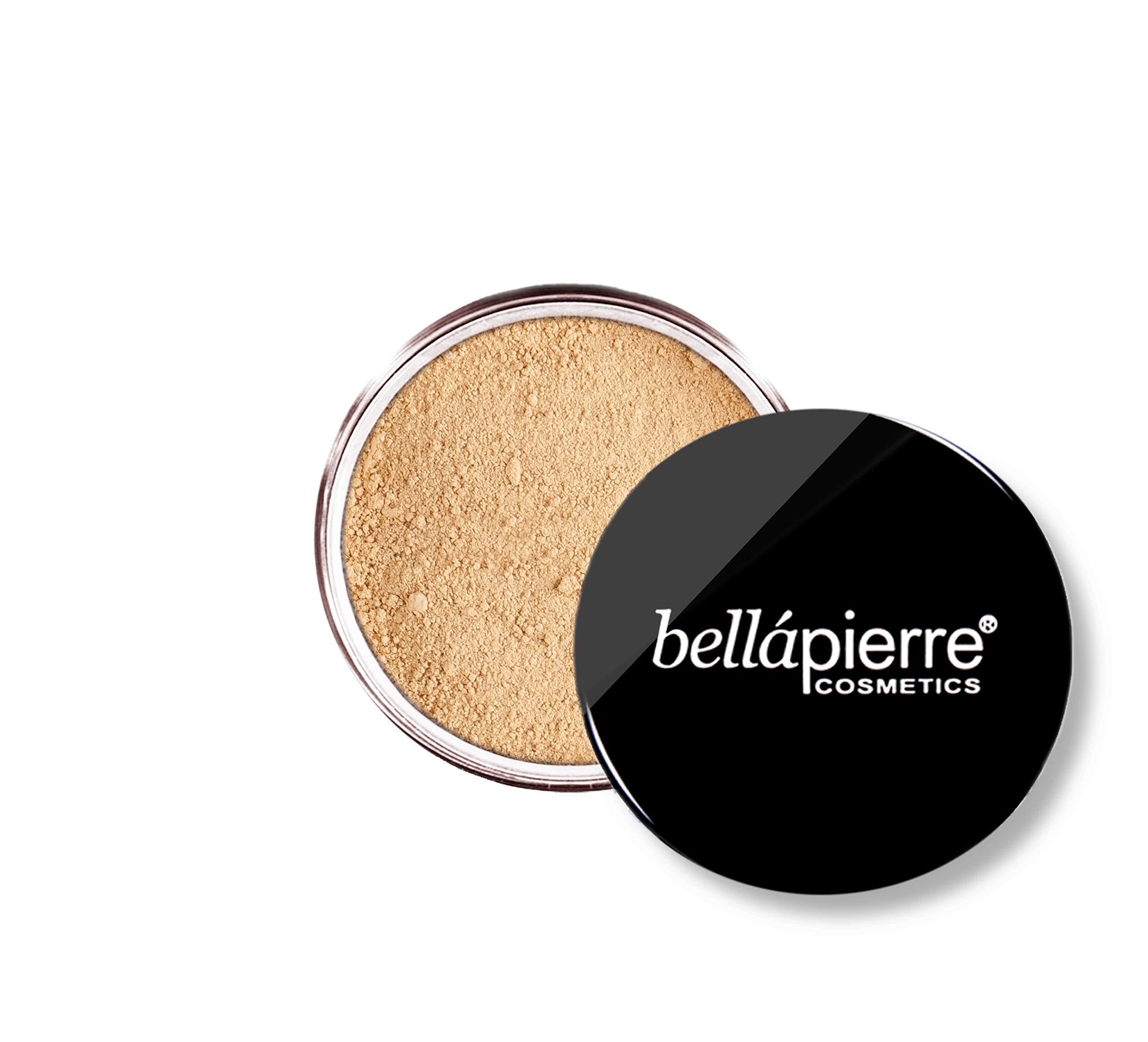 bellapierre Mineral Foundation SPF 15, Loose Powder, Full Coverage - 0.32 Oz. (Nutmeg)