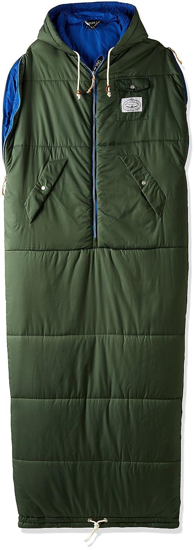 POLER CAMPING STUFF(ポーラー)THE REVERSIBLE NAPSACK LEAF GREEN 寝袋 シュラフ B01IUDRUF6 Medium