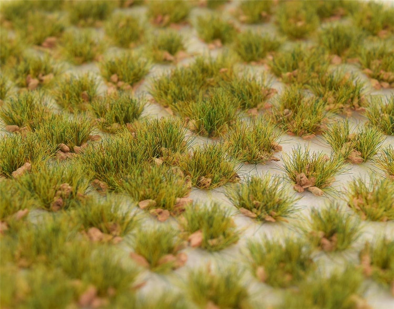 WWS Lückenhaftes Gras 10mm Selbstklebende Statische Grasbüschel