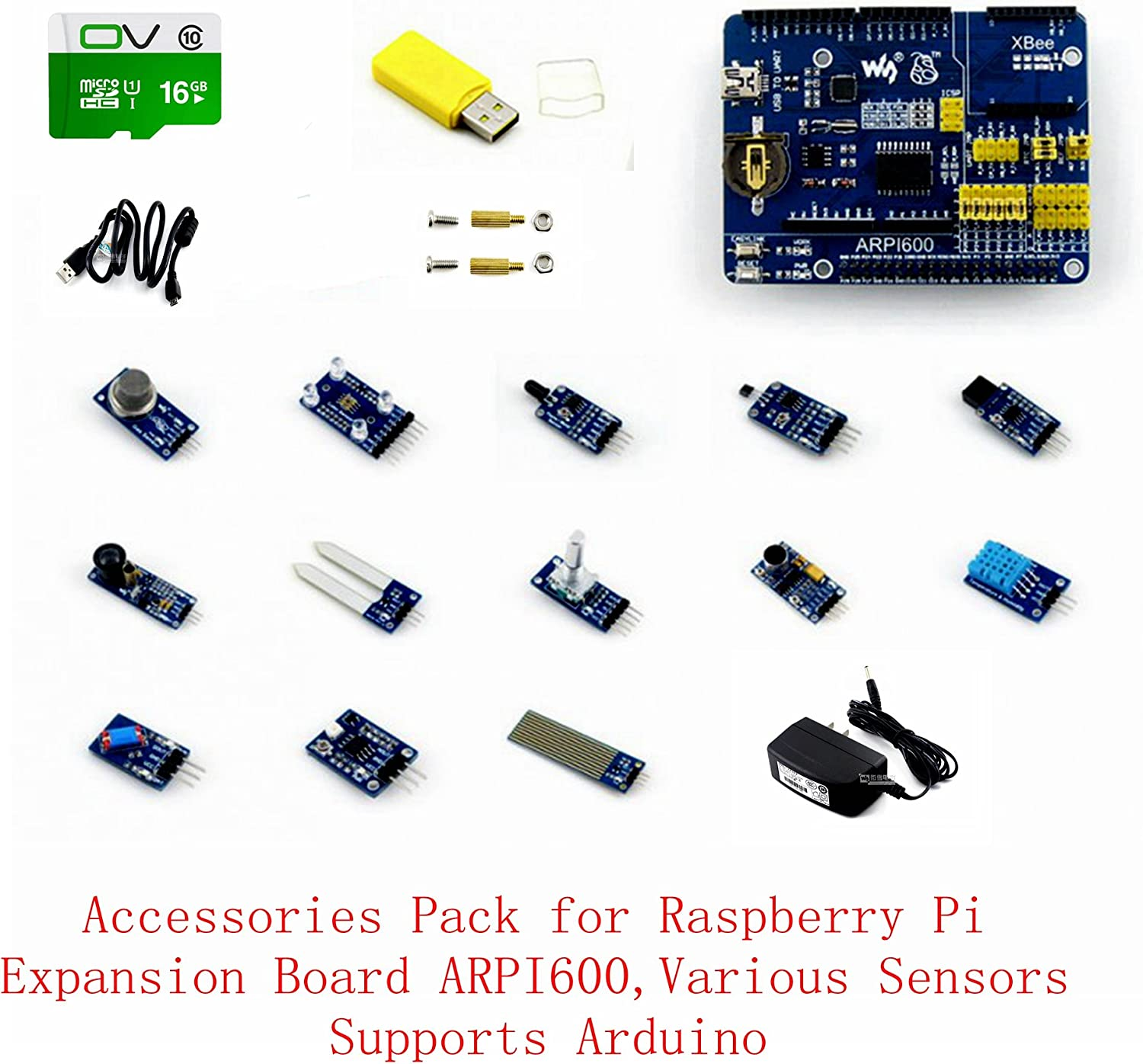 venel Electronic Component, Raspberry Pi Accessories Pack d, An ...