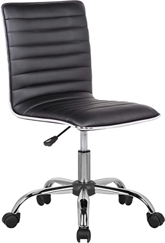 Porthos Home Adjustable Lindsey Office Chair Black