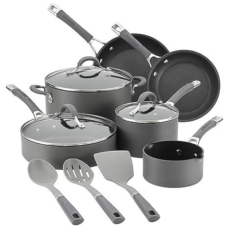Amazon.com: Circulon 83914 - Batería de cocina (aluminio ...