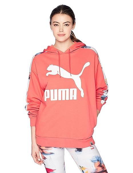 9452070a28a3 PUMA Women s Classics Logo T7 Hoody AOP