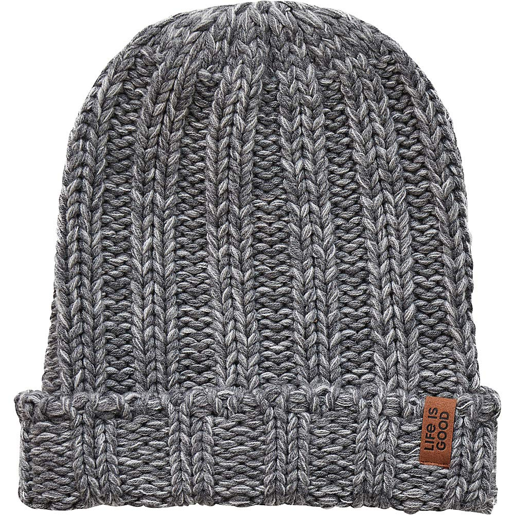 Life is Good Slouchy Pom Winter Beanie Hat