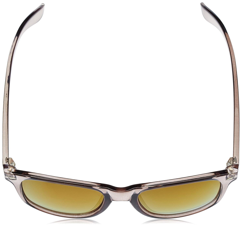 Ocean Sunglasses Beach Wayfarer - Gafas de Sol polarizadas - Montura : Negro Brillante - Lentes :Violeta Espejo (18202.39): Amazon.es: Deportes y aire libre