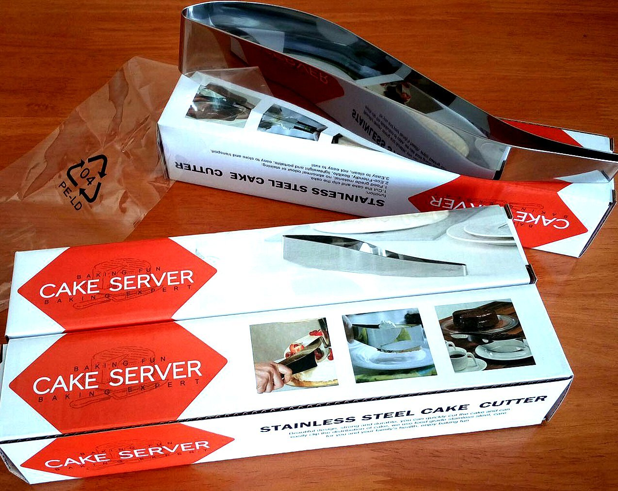 The MasDus | Best Cake Server | Pie Server | Cake Cutter | Cake cutter and Server Stainless Steel | Cake Slicer | Cake Lifter