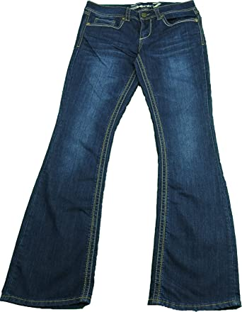 Seven 7 Ladies Size 8 Bootcut Denim Jeans, Reborn Blue at Amazon ...