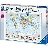 Ravensburger Puzzle - Political World Map (1000 pieces)