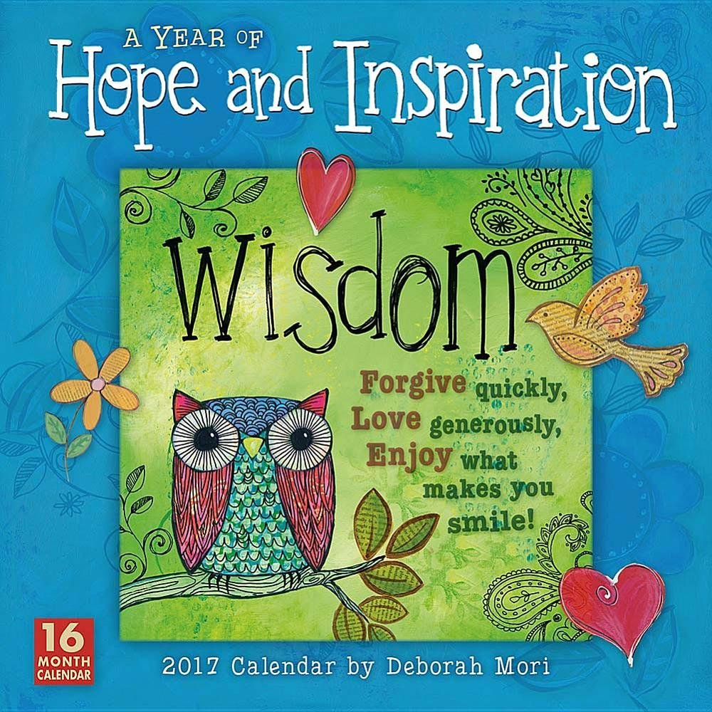 Year Hope Inspiration 2017 Calendar product image