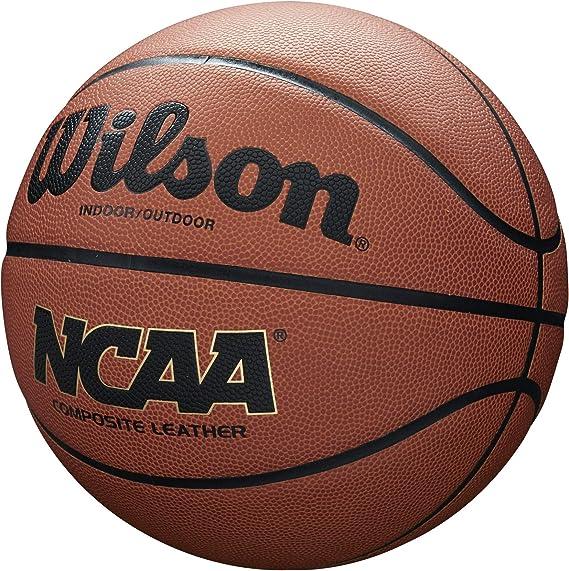 "28.5/""  New Wilson NCAA Championship Edition Leather Indoor//Outdoor Basketball"
